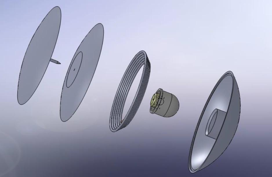 تگ دزدگیر گلفی RF فرکانس 8.2Mh