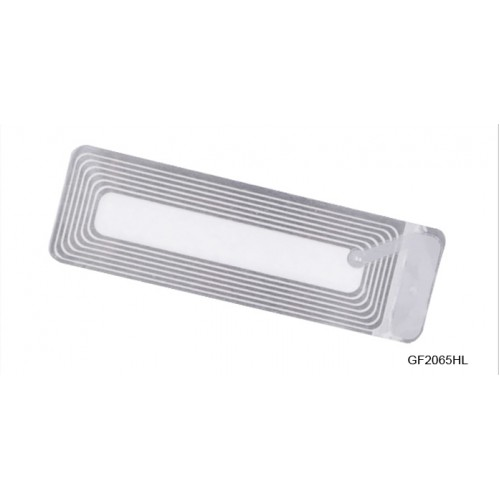 لیبل دزدگیر 6*2 شفاف (RF Label)